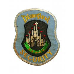 DISNEYLAND SECURITY Officer Uniform Jacket Patch