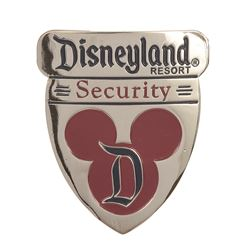 Pair of Disneyland Security Badges