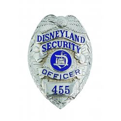 Disneyland  Security Officer Badge.
