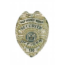 Walt Disney World Security Officer Badge.