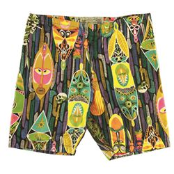 Vintage ENCHANTED TIKI ROOM Boy's Swimming Trunks- PATTERN C, boys small size,
