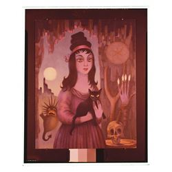 Witch of Walpurgis, Haunted Mansion Changing Painting glass slide