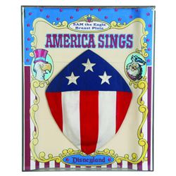 "America Sings ""Eagle Sam"" breast plate"