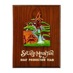 Splash Mountain Cast-Member gift