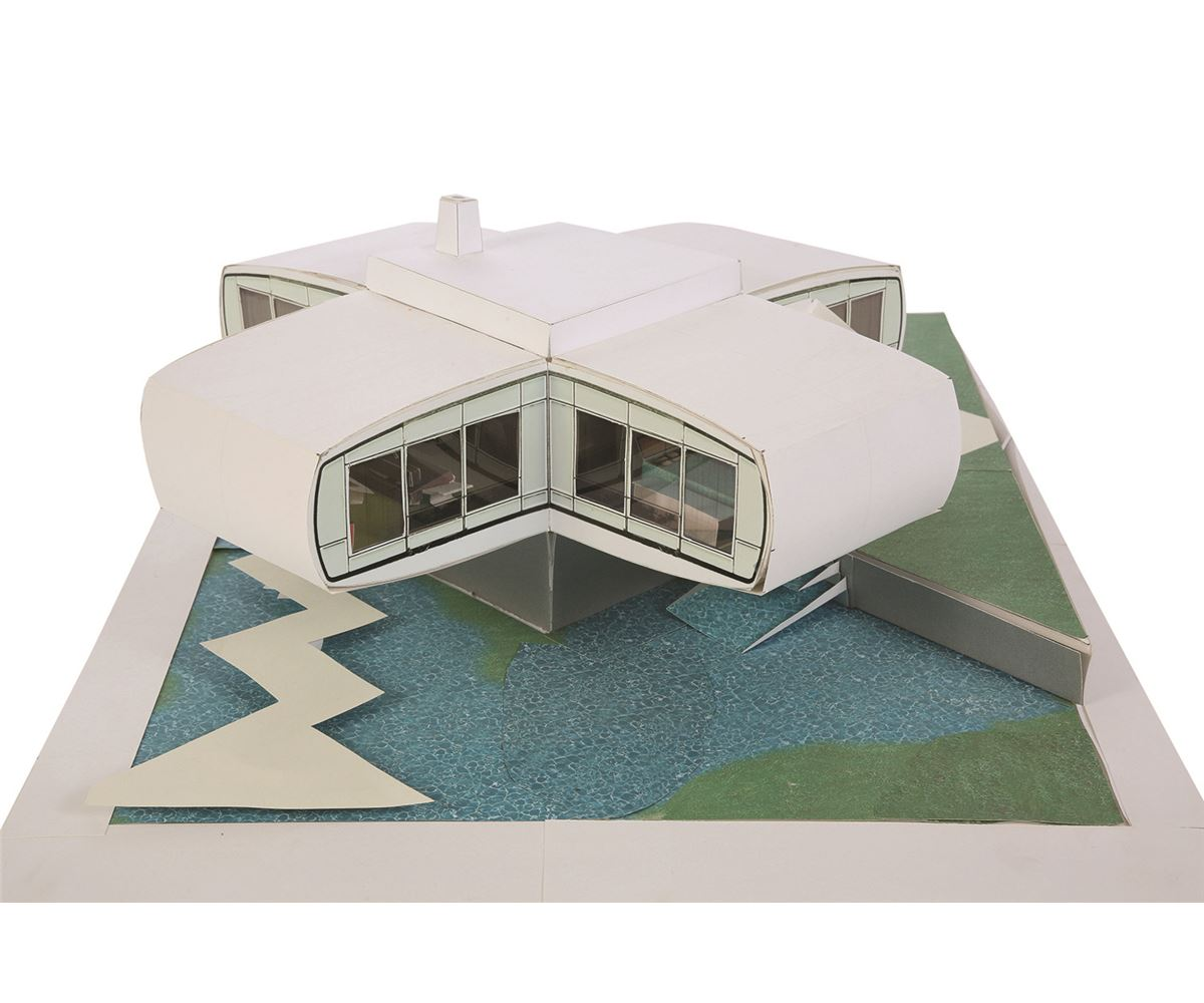 House of the Future model by Ty Ervin