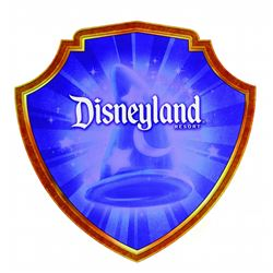 Disneyland Resort Shield Sign