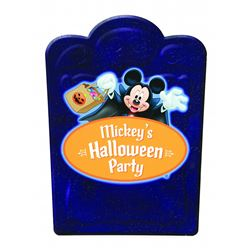 Mickey's Halloween Party Sign