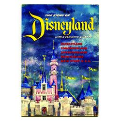 The Story Of Disneyland 1955 Guidebook