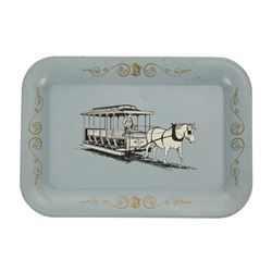 Main Street Souvenir Tin Tray