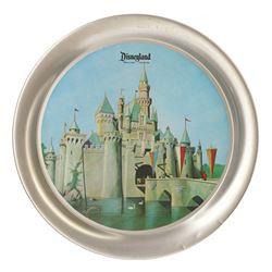 Disneyland Souvenir Aluminum Tray