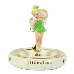 Disneyland Tinkerbell two-piece China Flower Vase