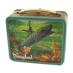 Monorail/Submarine Voyage Metal Lunchbox and Thermos