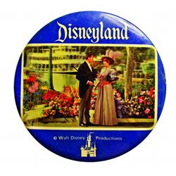 Disneyland 3-D Picture Button