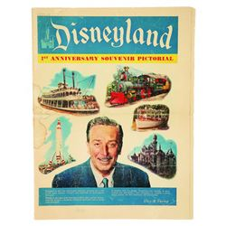 Disneyland 1st Anniversary souvenir Pictorial newspaper supplement.