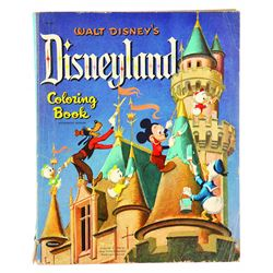 Disneyland Coloring book
