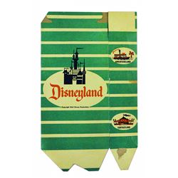 1956 Original Disneyland POPCORN BOX