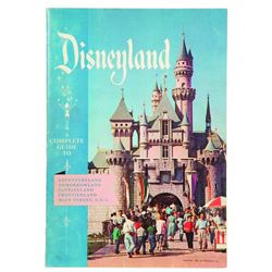 1956 Disneyland Guide Book
