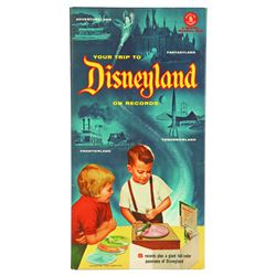 Mattel's YOUR TRIP TO DISNEYLAND ON RECORDS.
