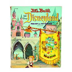 Let's Build Disneyland Push Out and Put Together Book.