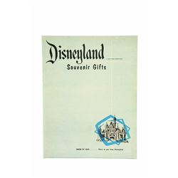 Disneyland Souvenir Gifts Mail order catalog