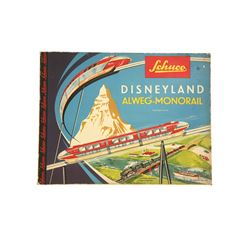 Schuco Disneyland Monorail  electric train set in box
