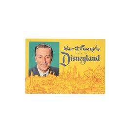 Disneyland 1962 Guide Book.