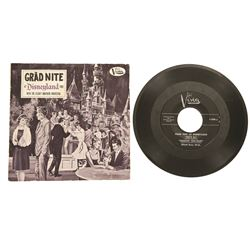 Grad Night at Disneyland 1962 45 RPM record