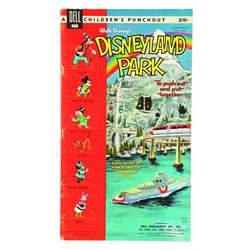 Disneyland Punch-out Book