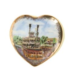 Disneyland Mark Twain Souvenir Trinket Box