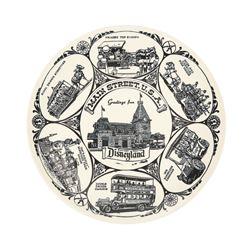 Souvenir Disneyland Ceramic Plate