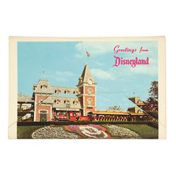 """This is Disneyland""  Souvenir Gift Mailer"