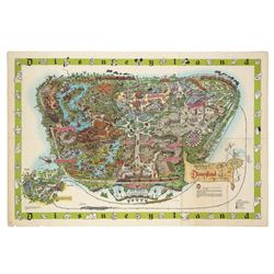 "Sam McKim ""1964A"" Disneyland Souvenir Map."