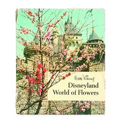 Walt Disney's DISNEYLAND WORLD OF FLOWERS - Souvenir Hardback Book.