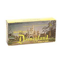 Disneyland Bubble Gum Card Box