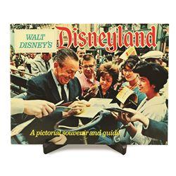 Walt Disney's Pictorial Souvenir Book of Disneyland with Original Envelope