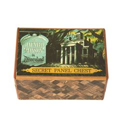 The Haunted Mansion Secret Panel Chest/Box with instructions
