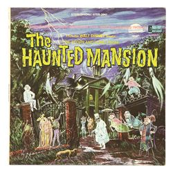 Signed The Story and Song From the Haunted Mansion LP