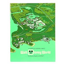 """""""A Complete Edition About Walt Disney World"""" booklet"""