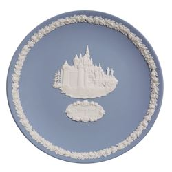 Wedgewood Collector Plate featuring Sleeping Beauty's Castle