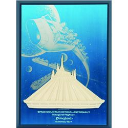 Space Mountain opening day press gift