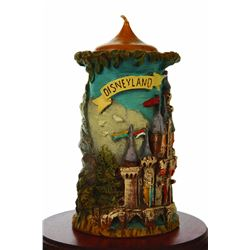 Gunter Kerzen Sleeping Beauty's Castle carved candle and display case