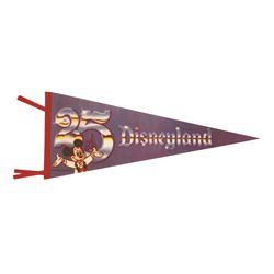 Disneyland 25th Anniversary Felt Pennant