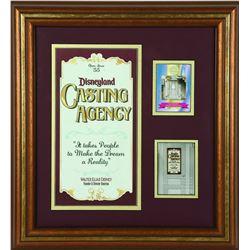 Disneyland Casting Agency framed set