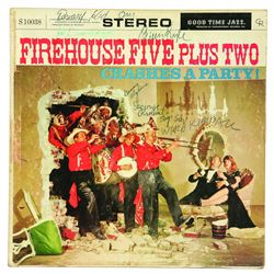 "Firehouse Five Plus Two ""Crashes at a Party!"" signed by Ward Kimball and 5 others"