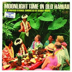 Moonlight Time In Old Hawaii by The Hawaiian Strings record