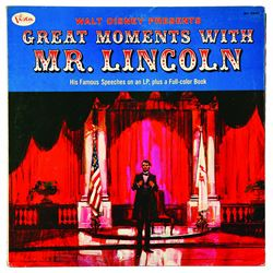 Great Moments With Mr. Lincoln Record Album