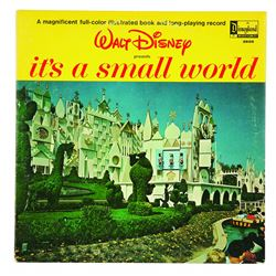 Walt Disney Presents It's a Small World LP Record