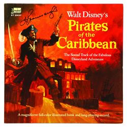 Walt Disney's Pirates of the Caribbean Sound Track LP picture disk Record #3937, A Disneyland Record