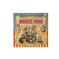 Walt Disney Productions America Sings record