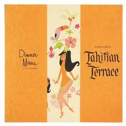 Tahitian Terrace Dinner Menu